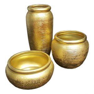 שלישיית כדי זהב מחוספס